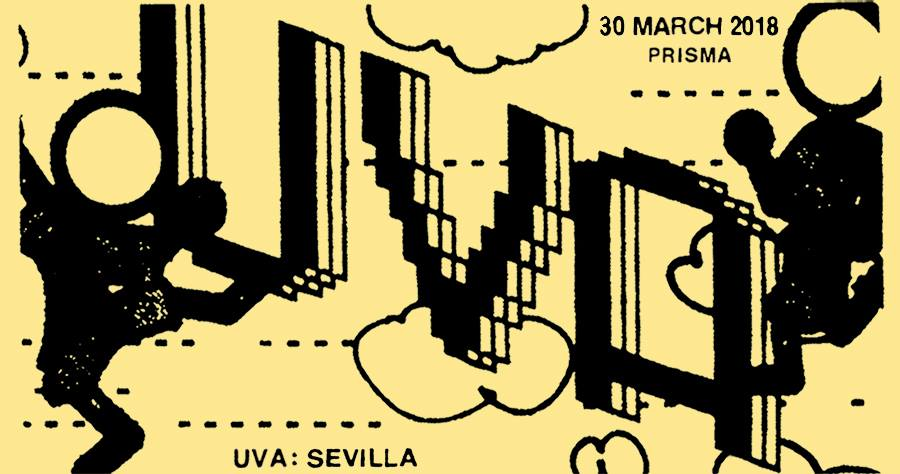 Uva Festival Satellite Party Seville Flyer Fiesta Satelite Sevilla